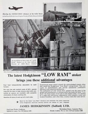 The Hodgkinson 'Low Ram' Stoker