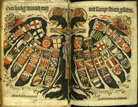 Inspiration: Double-headed eagle with coats of arms of individual states