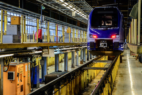 Periodic planned heavy cleans for rail rolling stock by REACT Specialist Cleaning