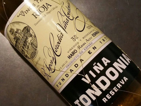 31 Month Comte from Mons Cheeses & Lopez de Heredia Vina Tondonia Blanco Reserva 2002