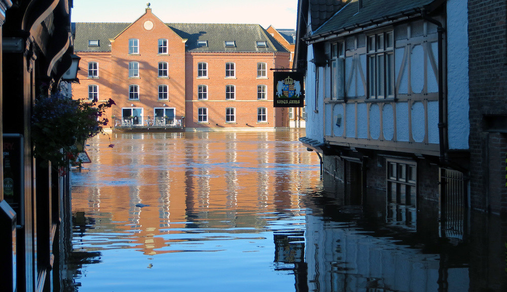 Flood and sewage damage cleanup by React Specialist Cleaning