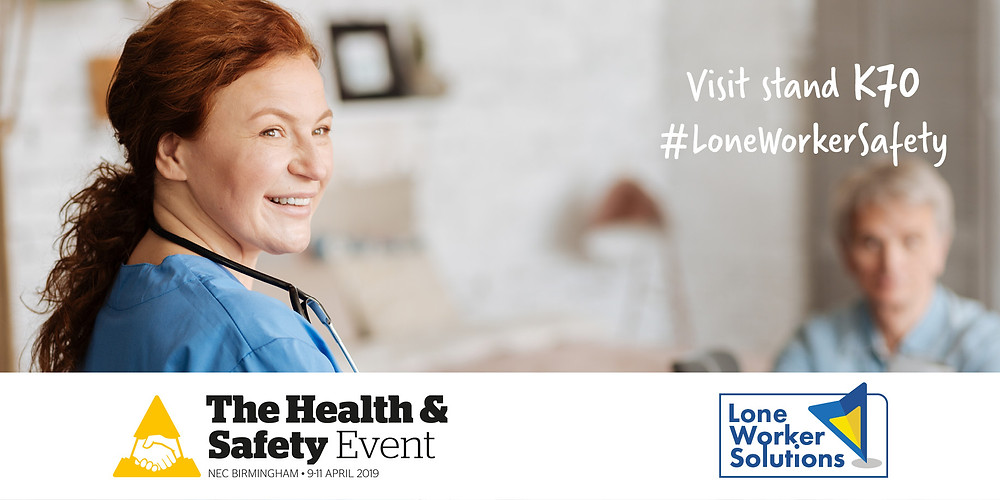 Health & Safety Event, Stand K70: April 9-11 2019, NEC Birmingham