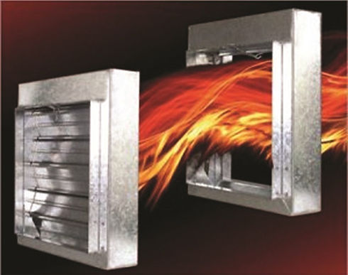 school fire damper testing service from