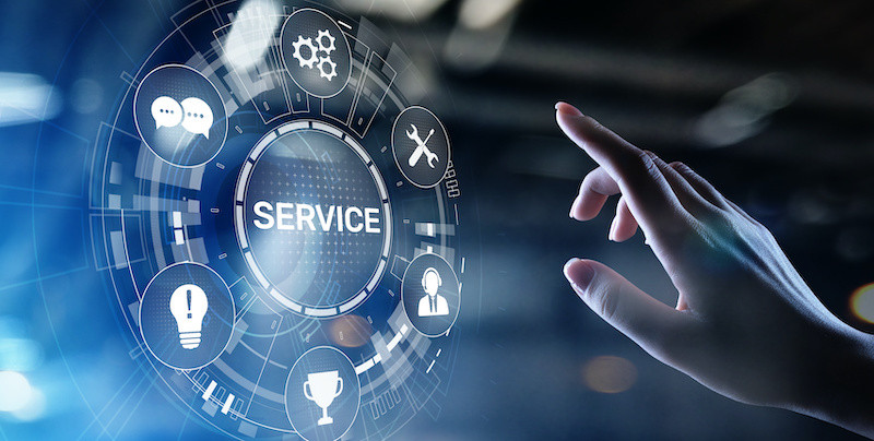 Service excellence graphic representing React Specialist Cleaning
