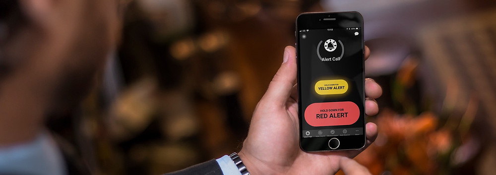 The Safe Hub smartphone app is easy to use