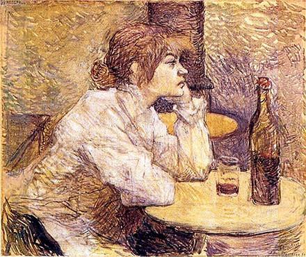 The Hangover (Portrait of Suzanne Valadon) Henri de Toulouse Lautrec