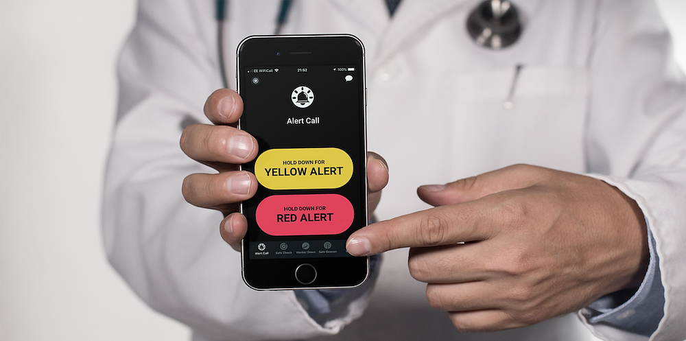 Red Alert: emergency support and a virtual buddy all in one