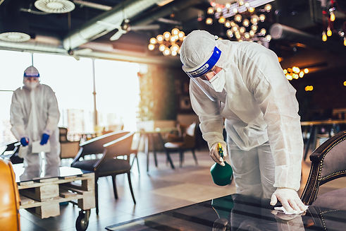 Hospitality deep cleaning from React_SM.