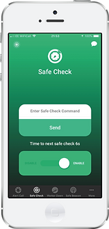 Safe Hub Lone Worker App periodic welfare check