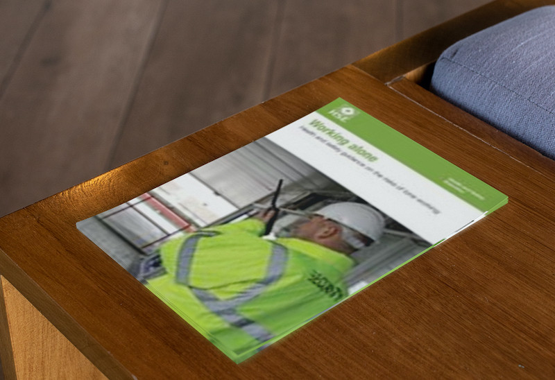 Working Alone Health and safety guidance on the risks