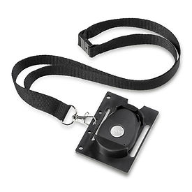 SOS Fob ID Badge Holder With SOS Fob Wit