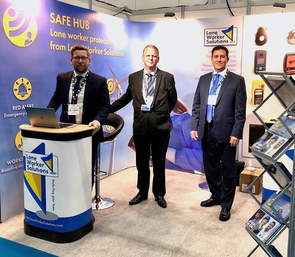 Safe Hub exhibits at CIH Housing 2018, Stand C52