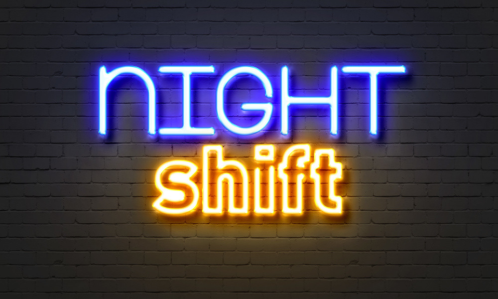 Night shift lone worker protection