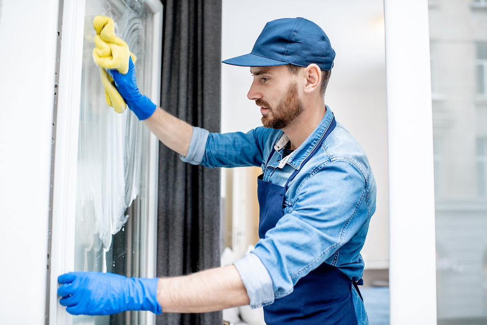 Janitorial cleaning PPE React Specialist Cleaning