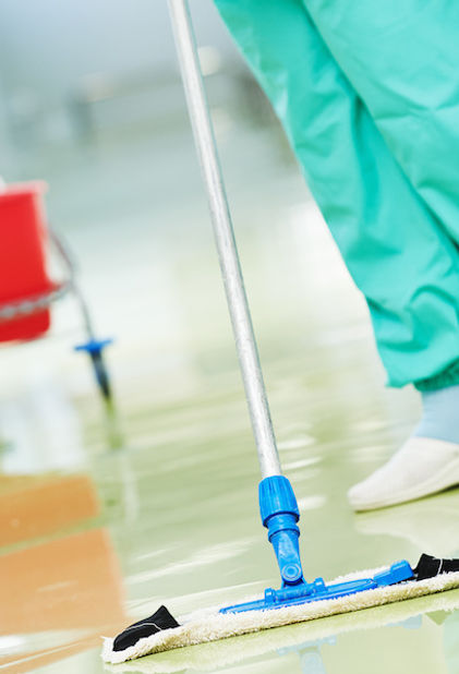 NHS & Hospital Cleaning from React Speci