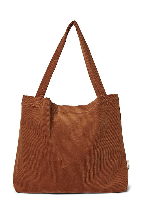Studio Noos - Brown rib mom-bag