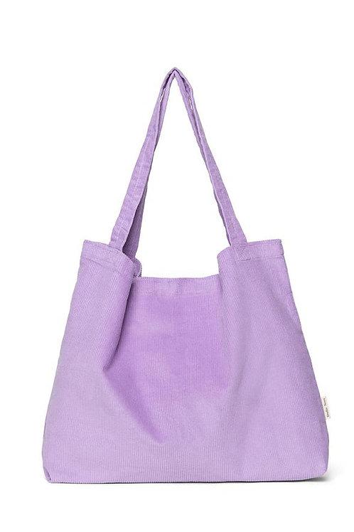 Studio Noos - Lilac rib mom-bag