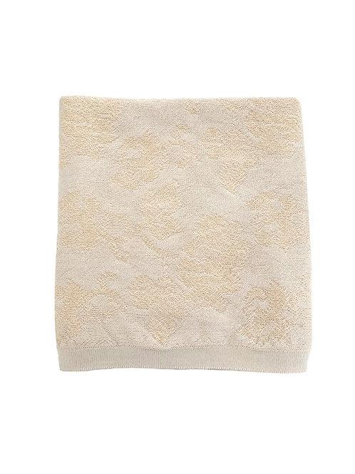 Hvid - Blanket Edith off-white/oat