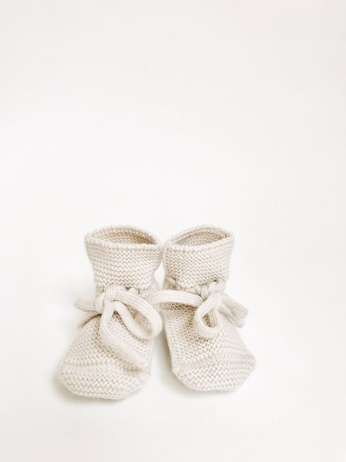 Hvid - Booties off-white