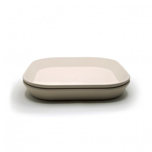 Mushie - Bord vierkant Ivory