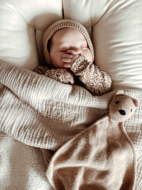Teddy en Beer - Bamboo Blanket