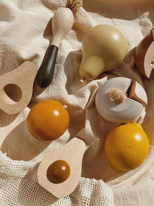 Konges sløjd - wooden fruits