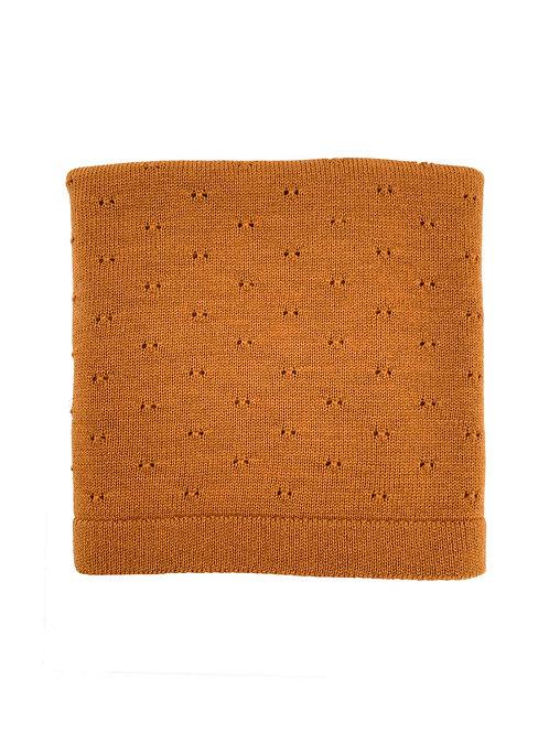 Hvid - Blanket Bibi rust