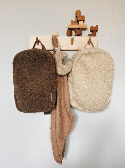 Studio Noos - Teddy backpack Kids brown