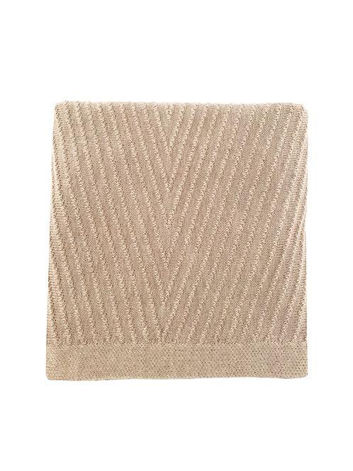 Hvid - Blanket Akira Sand