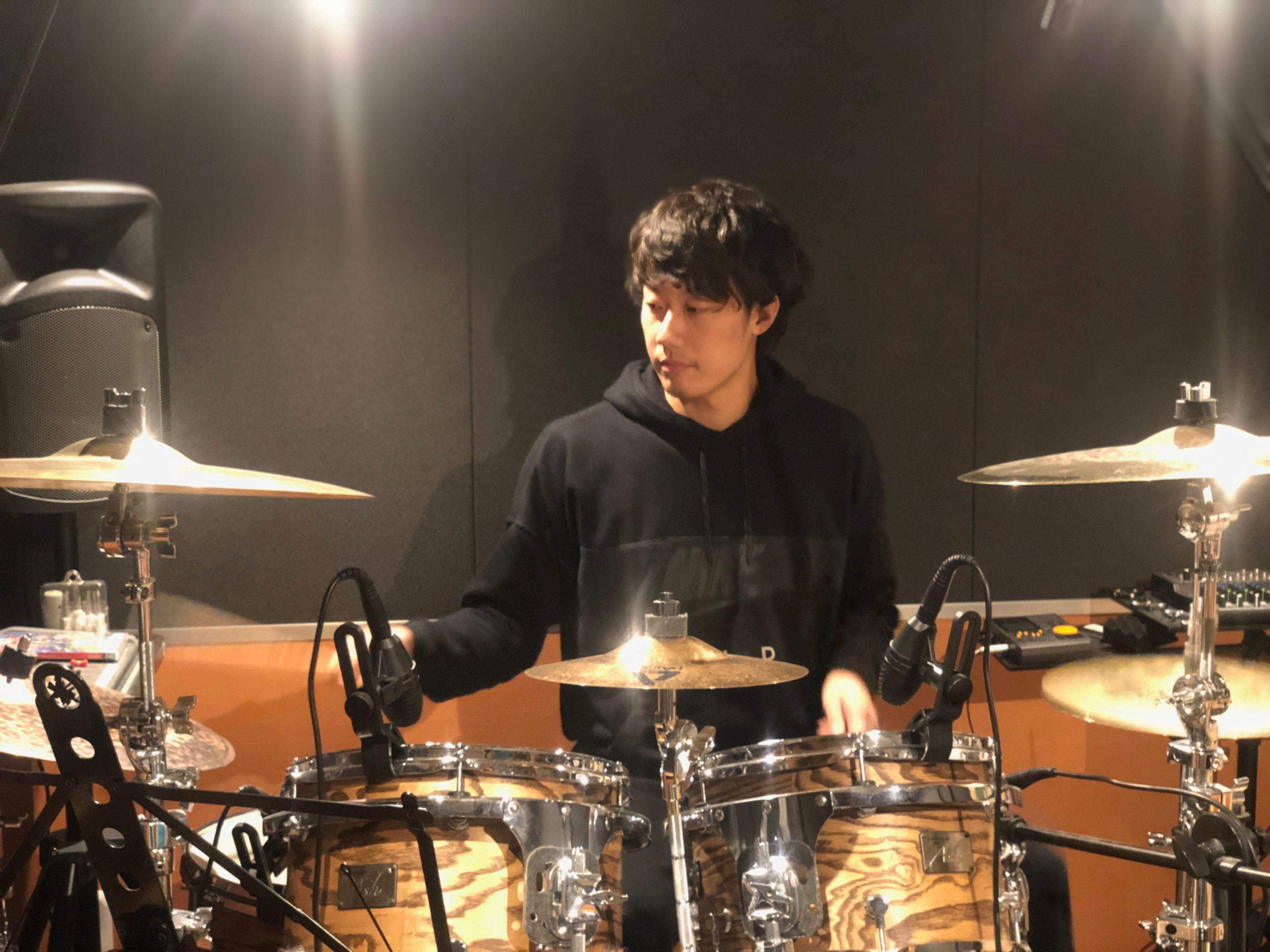Drum Lessen with Michinari 1hour