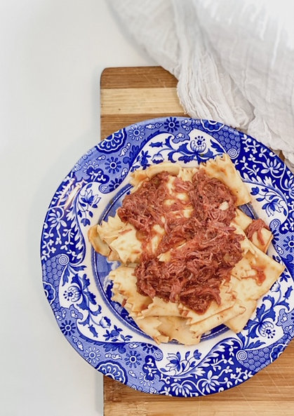 Pappardelle with Beef shin ragù