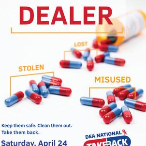 DEA Drug Take Back Program - 24 April