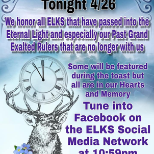 11th Hour Toast, Tonight 4/26