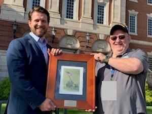 KY ENVSC Volunteer receives Lexington VA Outstanding Volunteer Award.