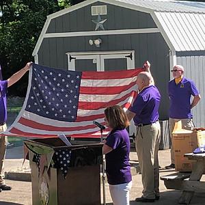 Lodge # 8 Flag Day Ceremony