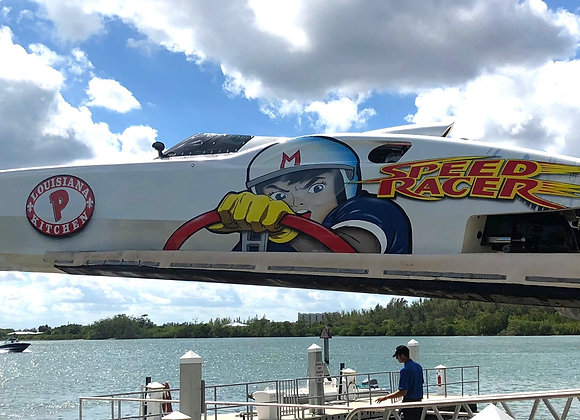 """2006 MTI 44' """"SPEEDRACER"""" - COMPLETELY RE-RIGGED - MERC 1100'S W 5 HOURS"""
