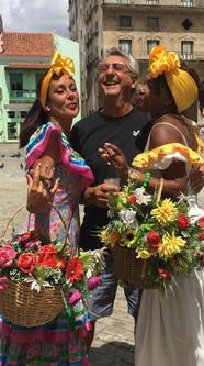 Larry Goldman in Cuba