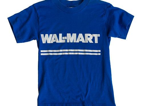 1980's Walmart Blue T-shirt