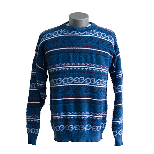 80's/90's Victoria Dry Goods Blue Pullover Sweater