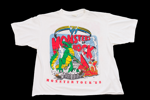 1988 Van Halen Monsters Of Rock Tour T-shirt