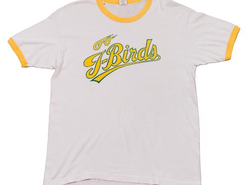 70's/80's Go T-Birds Yellow Ringer T-shirt