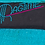 Thumbnail: 1980's Turquoise Ragtime Gauze Dress w/Beaded Feathers