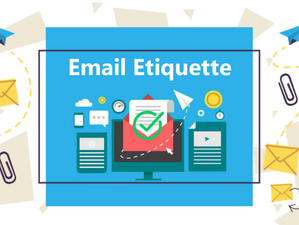 Email Etiquette during a Job Search