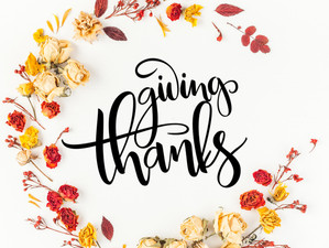 Giving Thanks: Three Ways to Show Your Colleagues Gratitude.