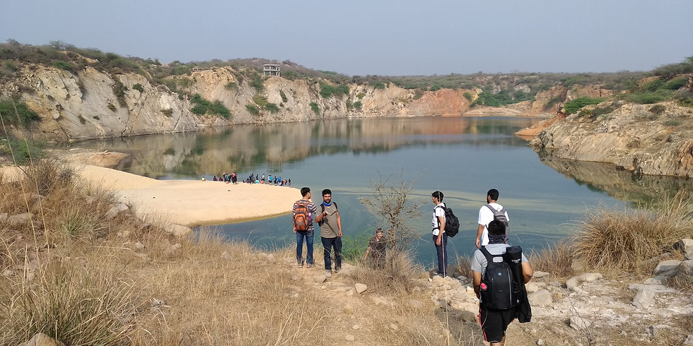 Bhardwaj Lake, Asola Mines Photowalk - 2