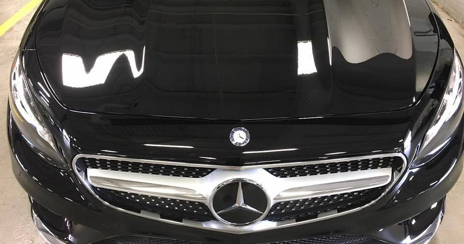 Ceramic Coating Mercedes Benz Car Exterior Detail