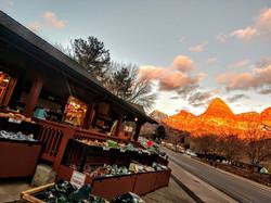 Zion Prospector sunset