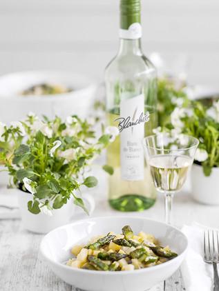 kartoffelrisotto und blanchet