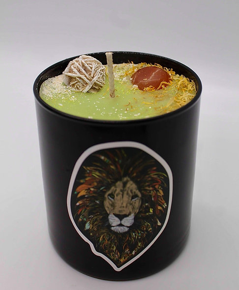 Lion's Heart Candle (8oz)