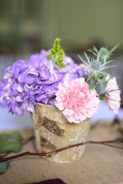 Close up of florals